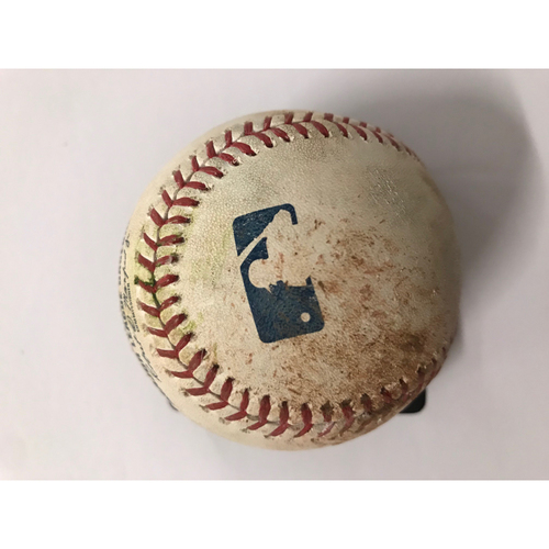 Photo of Chris Taylor Game Used Hit Double Baseball -7/27/2018