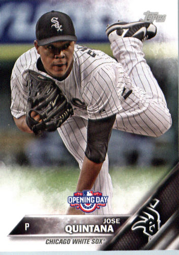 Photo of 2016 Topps Opening Day #OD170 Jose Quintana