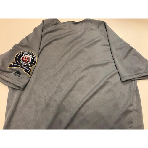 Photo of Team-Issued 1968 World Series 50th Anniversary Jersey: Blank Size 56