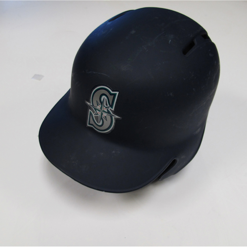 Photo of Seattle Mariners Mitch Haniger Game-Used Batting Helmet - 9/29/18 vs. TEX