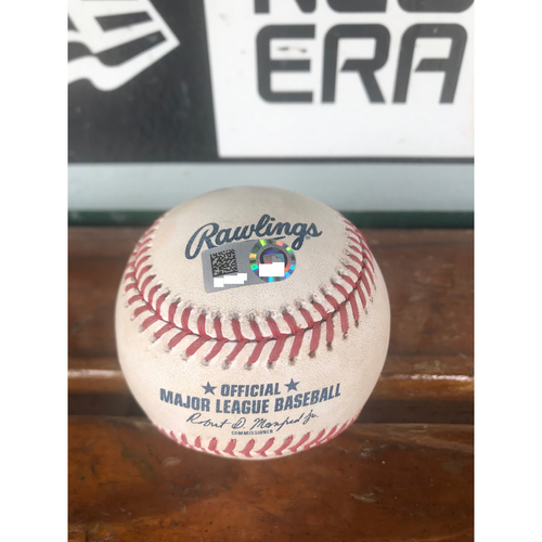 Photo of Cardinals Authentics: Game Used Ball Pitched by Bud Norris to Alex Gordon *Single*