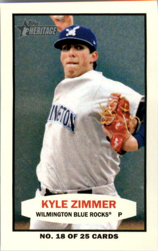 Photo of 2013 Topps Heritage Minors 1964 Bazooka #KZ Kyle Zimmer