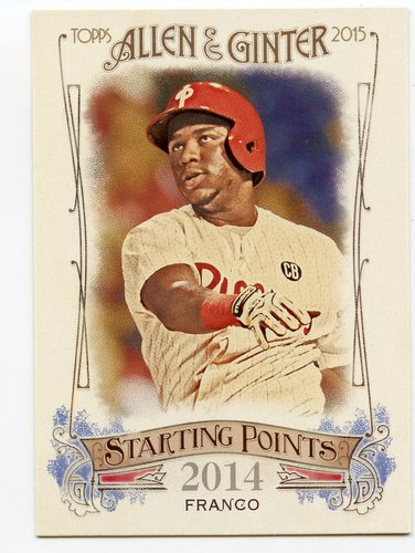 Photo of 2015 Topps Allen and Ginter Starting Points #SP65 Maikel Franco