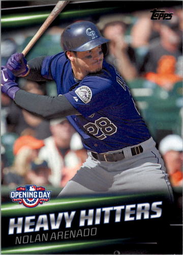 Photo of 2016 Topps Opening Day Heavy Hitters #HH8 Nolan Arenado