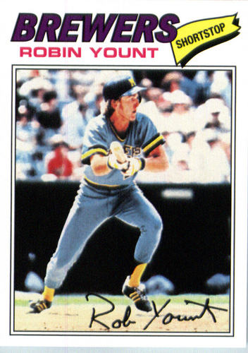 Photo of 2016 Topps Berger's Best #BB26 Robin Yount