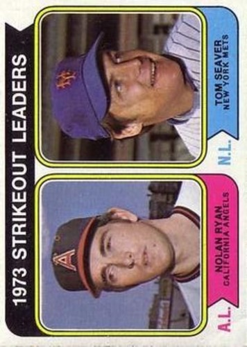 Photo of 1974 Topps #207 Strikeout Leaders/Nolan Ryan/Tom Seaver