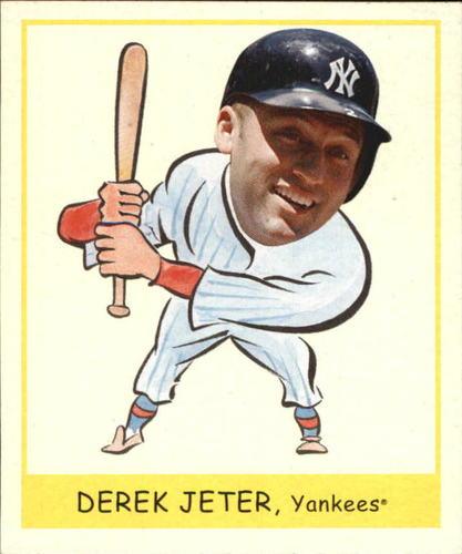 Photo of 2007 Upper Deck Goudey Heads Up #242 Derek Jeter