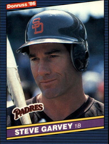 Photo of 1986 Donruss #63 Steve Garvey
