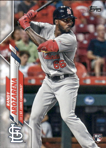 Photo of 2020 Topps #229 Randy Arozarena RC