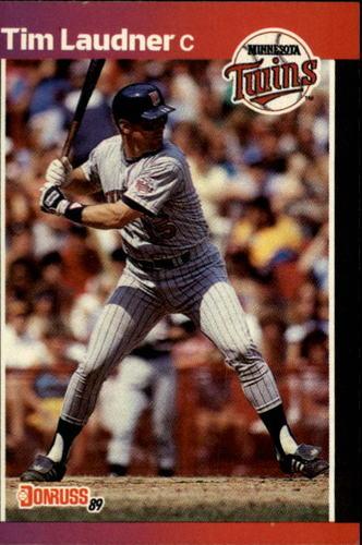 Photo of 1989 Donruss #615 Tim Laudner DP