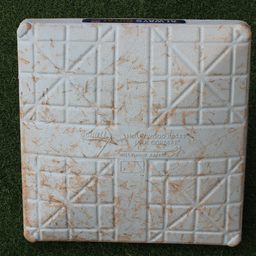 Photo of Game-Used 3rd Base: Yuli Gurriel 62nd Career Home Run and Josh Reddick 139th Career Home Run (Innings 1-5 - HOU @ KC - 9/15/19)