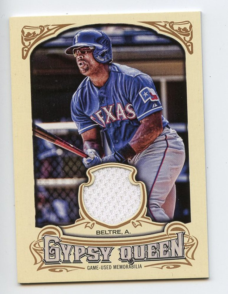 2014 Topps Gypsy Queen Relics #GQRAB Adrian Beltre