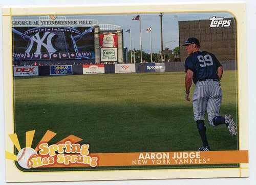 Photo of 2020 Topps Opening Day Spring Has Sprung #SHS12 Aaron Judge