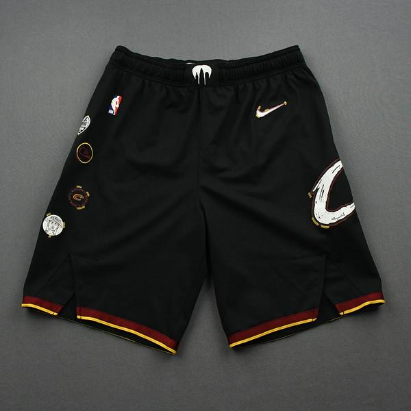 Image of Jeremiah Martin - Cleveland Cavaliers - Game-Issued City Edition Shorts - 2020-21 NBA Season