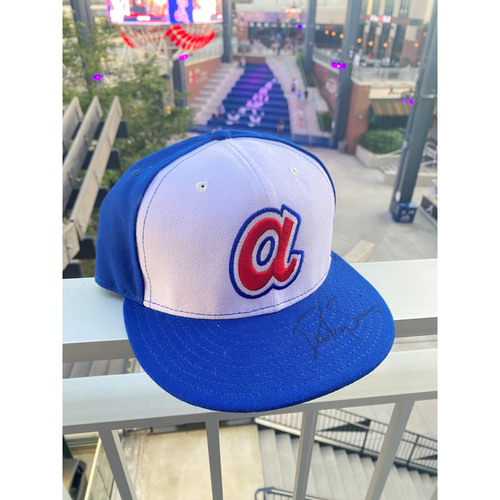 Photo of  Dansby Swanson MLB Authenticated Autographed 1974 Style Hat