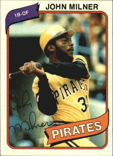 Photo of 1980 Topps #71 John Milner DP