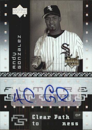 Photo of 2007 Upper Deck Future Stars #166 Andy Gonzalez AU RC
