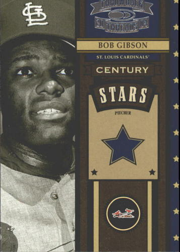 Photo of 2004 Throwback Threads Century Stars #8 Bob Gibson
