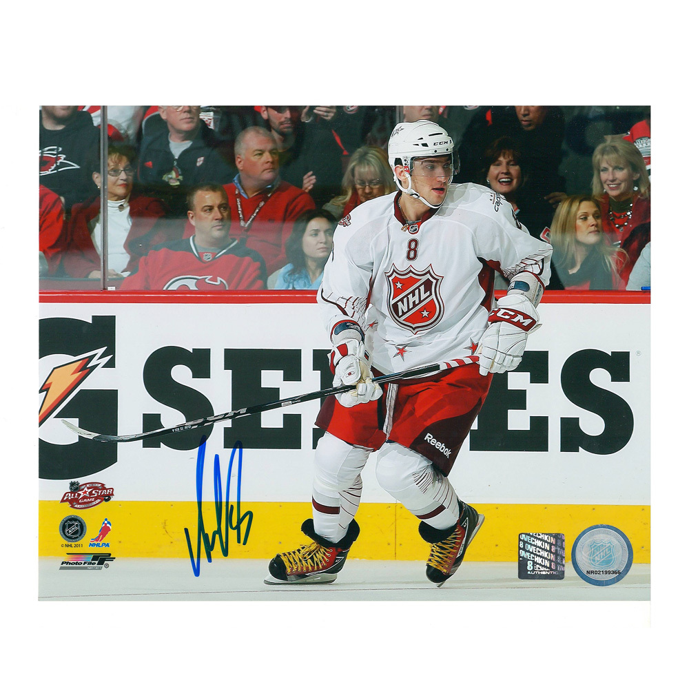 ALEX OVECHKIN Signed 2011 NHL All Star Game 8 X 10 Photo - Washington Capitals - 70482