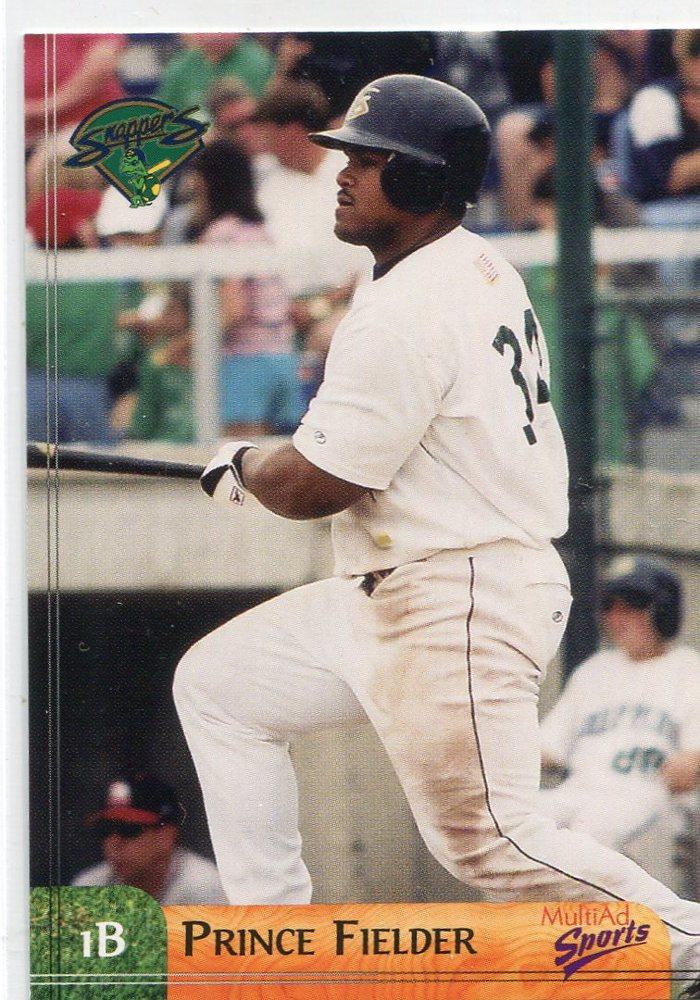 2003 Beloit Snappers Multi-Ad #27 Prince Fielder
