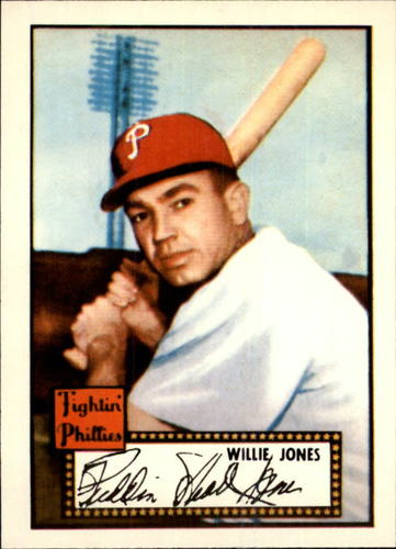 Photo of 1983 Topps 1952 Reprint #47 Willie Jones