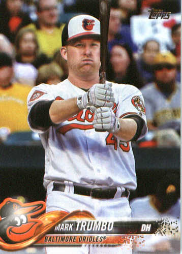 Photo of 2018 Topps #287 Mark Trumbo