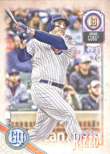 Photo of 2018 Topps Gypsy Queen #87 Anthony Rizzo