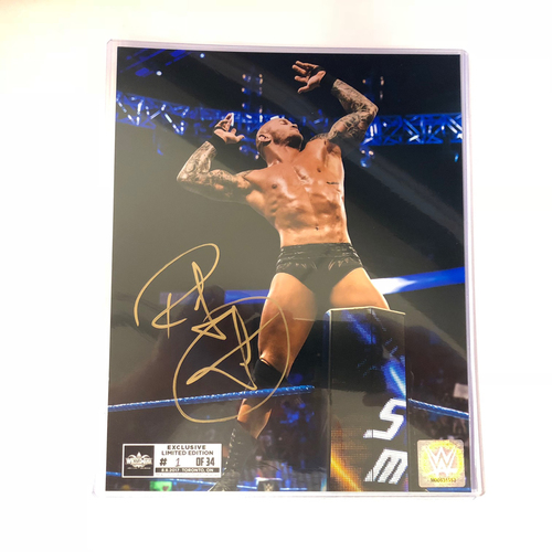 Randy Orton SIGNED 8 x 10 Limited Edition WrestleMania Photo (#1 of 34)