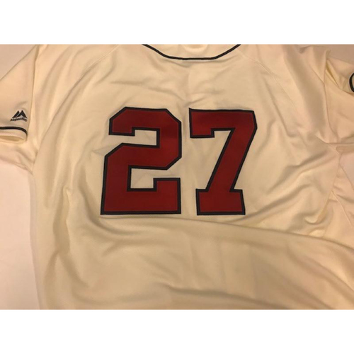 Photo of Team-Issued Detroit Stars Jersey: Jordan Zimmermann