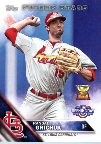 Photo of 2016 Topps Opening Day #OD172 Randal Grichuk
