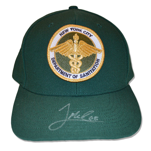 Photo of Jeff McNeil #68 - Autographed Game Used Adjustable First Responder Hat - 9/11/18