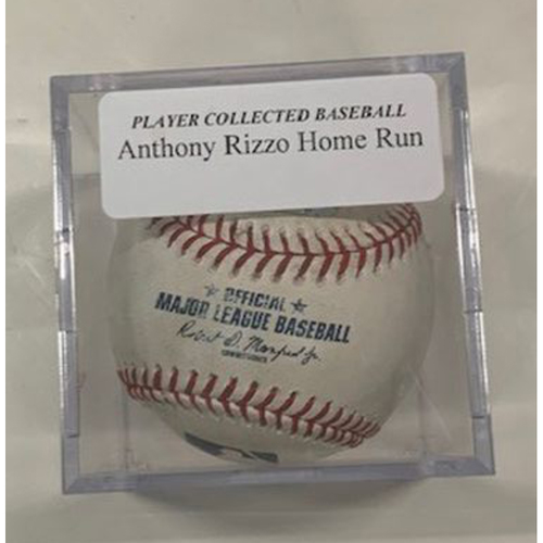 Player Collected Baseball: Anthony Rizzo Home Run