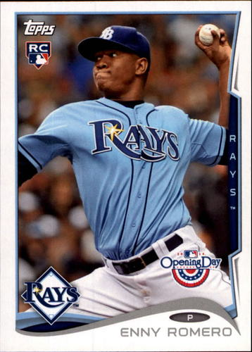 Photo of 2014 Topps Opening Day #138 Enny Romero RC