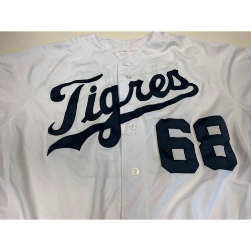 Photo of Team-Issued Fiesta Tigers Jersey: Daniel Stumpf