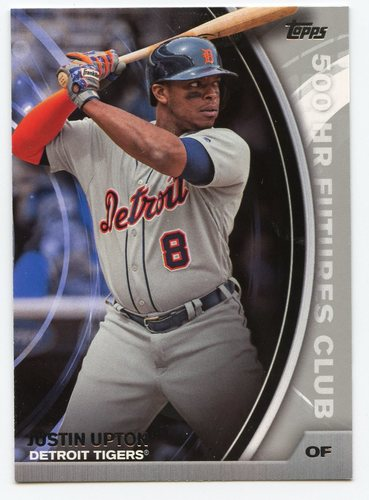 Photo of 2016 Topps Update 500 HR Futures Club Silver #50014 Justin Upton