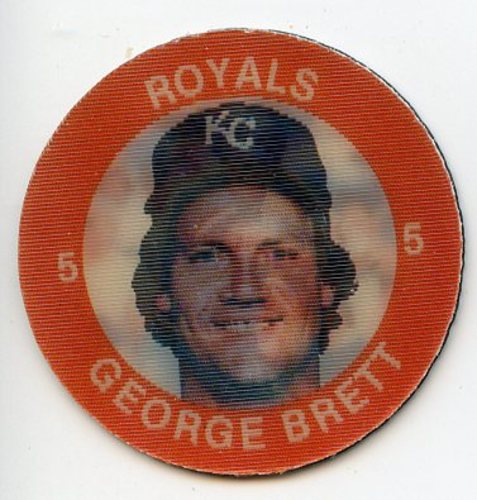 Photo of 1984 Seven-Eleven Coins #E5 George Brett