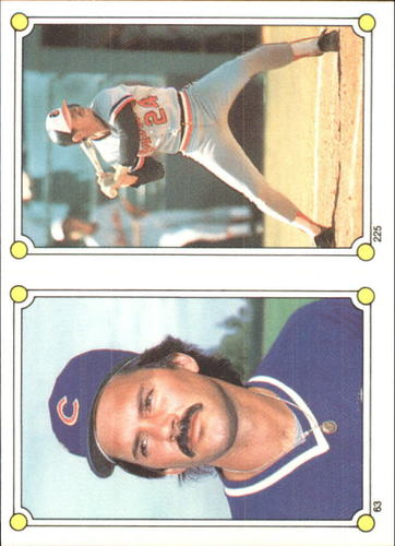 Photo of 1987 Topps Stickers #63 Dennis Eckersley/(225)