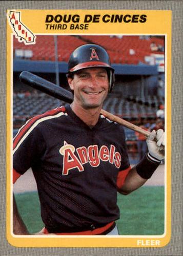 Photo of 1985 Fleer #299 Doug DeCinces