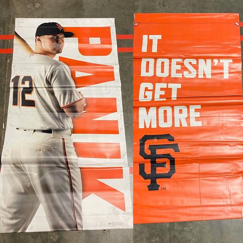 Photo of 2019 Street Banner - #12 Joe Panik