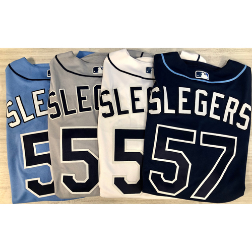 Photo of Team Issued Jersey Package (4): Aaron Slegers