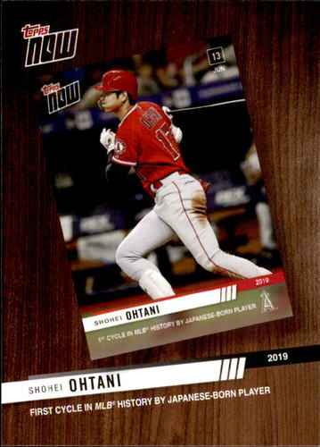 Photo of 2020 Topps '19 Topps Now Review #TNR5 Shohei Ohtani