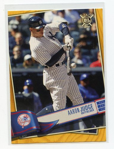 Photo of 2019 Topps Big League Gold #32 Aaron Judge
