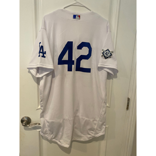 Photo of Will Smith Game-Used Jackie Robinson Day Jersey - Size 46