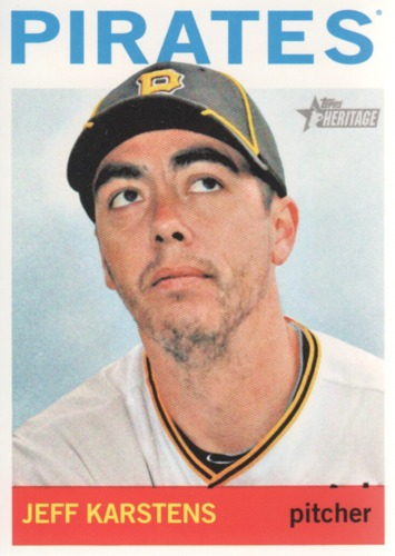 Photo of 2013 Topps Heritage #396 Jeff Karstens