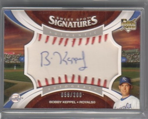 Photo of 2006 Sweet Spot Update #127 Bobby Keppel AU/200 (RC)