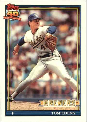 Photo of 1991 Topps Tiffany #118 Tom Edens