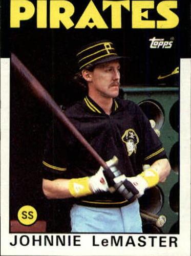 Photo of 1986 Topps #289 Johnnie LeMaster