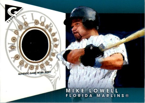 Photo of 2005 Topps Gallery Originals Relics #ML Mike Lowell Jsy
