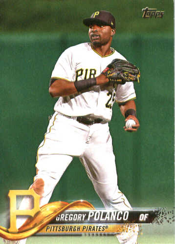 Photo of 2018 Topps #201 Gregory Polanco