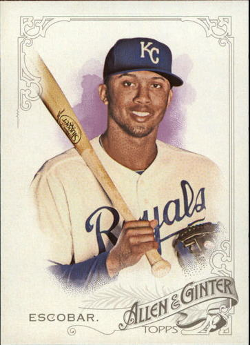 Photo of 2015 Topps Allen and Ginter #331 Alcides Escobar